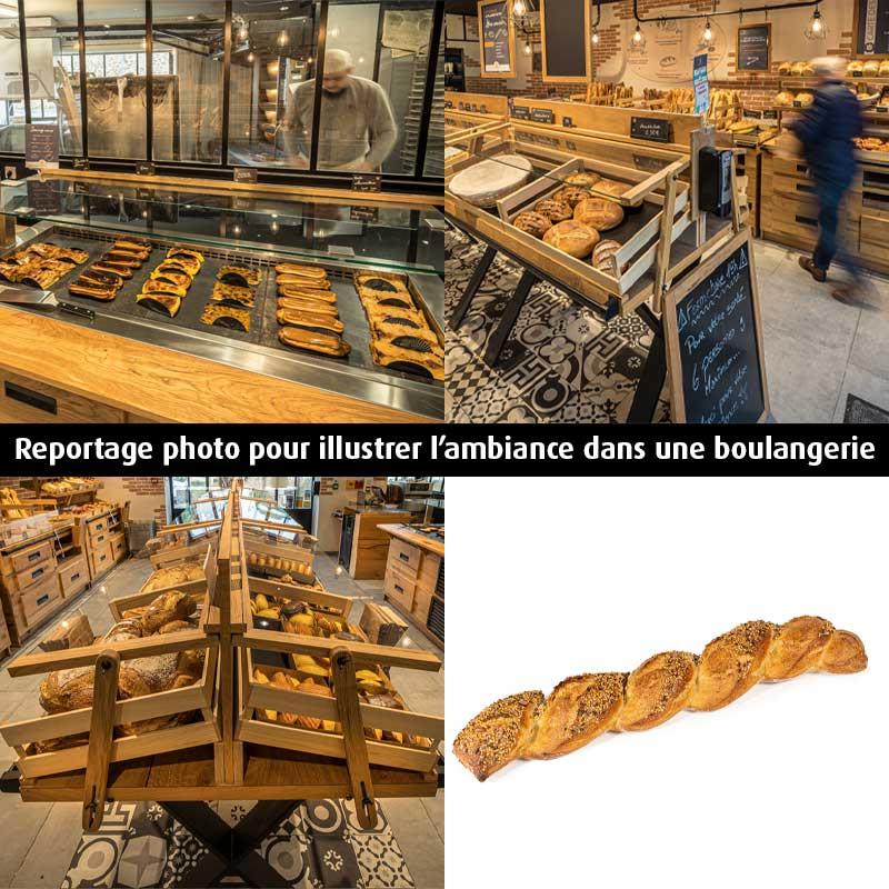 Photographies professionnelles de boulangerie